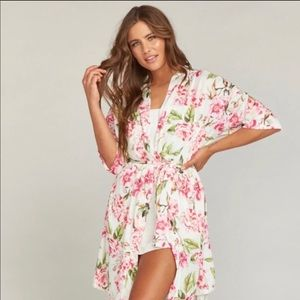 Show Me Your Mumu Floral Robe/Coverup